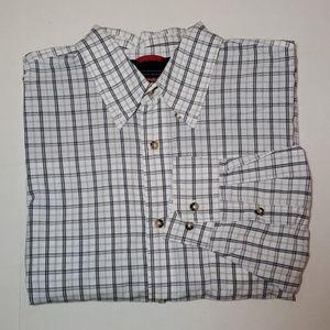 Wrangler 100% Cotton Button Down Shirt